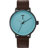 【台南 時代鐘錶 TYLOR】自由探索精神 風格多變時尚腕錶 TLAG004 皮帶 40mm