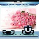 防油壁貼 廚房防油磁磚貼 45*75cm廚房壁貼 想購了超級小物