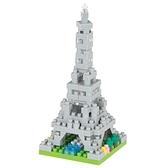《 Nano Block 迷你積木 》【世界主題建築系列】NBC_339艾菲爾鐵塔 / JOYBUS玩具百貨