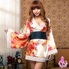 情趣用品 女性商品 日式和服2件組(性感睡衣+腰封) 角色扮演服 浴袍浴衣