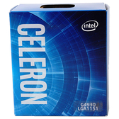 Intel 英特爾 Celeron G4930 2核心2執行緒 1151 腳位 CPU 中央處理器