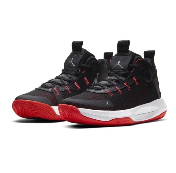 NIKE系列-JORDAN JUMPMAN 2020 PF 男款黑紅色運動籃球鞋-NO.BQ3448007