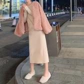 秋冬棉衣服新款韓版網紅ins潮百搭chic加厚絨絨羊毛羔外套女 雅楓居
