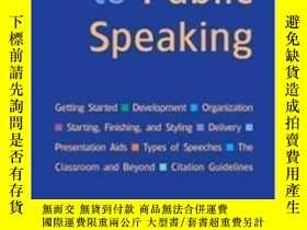 二手書博民逛書店Public罕見Speaking: High School Reprint-公開演講:高中再版Y436638