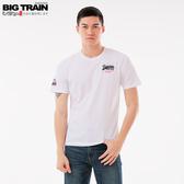 Big Train LOGO文字圓領短袖T-男Z80168(領劵再折)