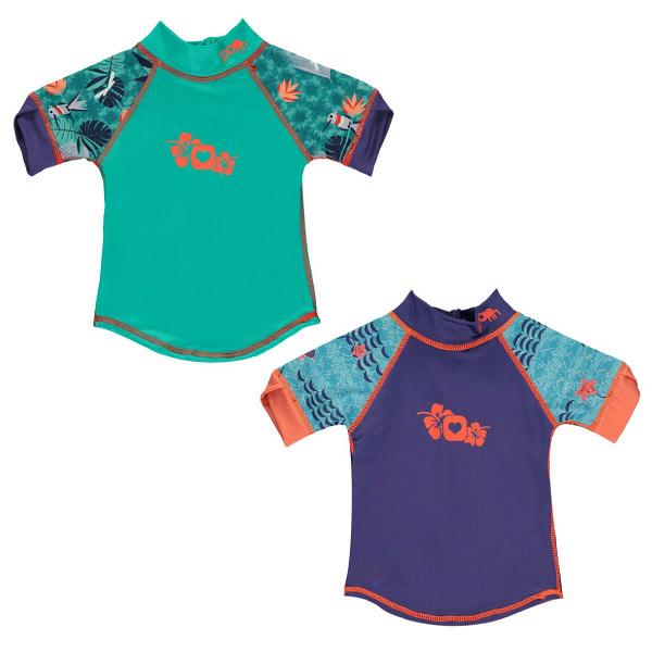 英國 Close Pop-in 短袖游泳上衣(蜂鳥/魟魚)6個月~4歲+