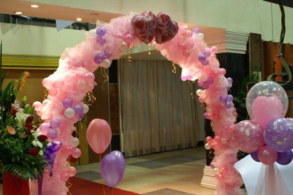 情意花坊網路花店~鮮花氣球婚禮會場佈置浪漫型只要9999元保證如圖!北縣市皆可服務!