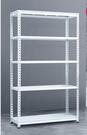 貨架 展示架家用角鋼倉儲貨架展示陽臺置物架多層落地白色超市倉庫儲物鐵架子免運快出