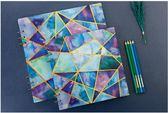 【新年鉅惠】活頁空白本 學生速寫紙 馬克筆專用素描本 油性彩鉛水彩紙畫本