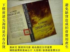 二手書博民逛書店ORIGIN罕見OF LIFEY180897