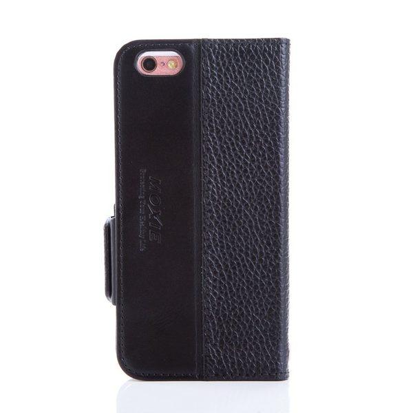 X-SHELL IPHONE 6/6s 防電磁波真皮手機皮套 (荔枝紋 經典黑)