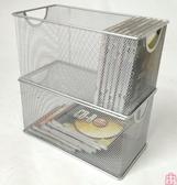 鐵網藝光盤盒CD架子大容量DVD盒光碟收納架盒碟片【匯美優品】