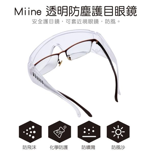 Miine 透明防塵護目眼鏡
