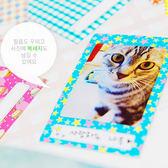 【BlueCat】Polaroid Film花俏繽紛拍立得留言框裝飾貼紙 (1組20入)