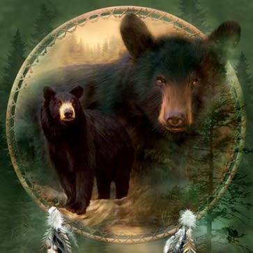 【摩達客】 (預購)(大尺碼3X) 美國進口【The Mountain】自然純棉系列 黑熊盾 設計T恤(10411045015ab)