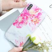 韓國 大理花 透明軟殼 手機殼│S6 Edge Plus S7 S8 S9 Note3 Neo Note4 Note5 Note8│z8430