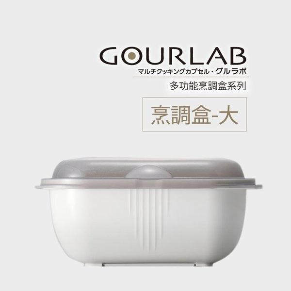 [強強滾]GOURLAB多功能烹調盒系列-GOURLAB烹調盒-大 微波 水波爐原理