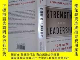 二手書博民逛書店Strengths-Based罕見LeadershipY6583 Tom Rath   Barry Conch