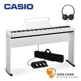Casio PX-S1000 白色 電鋼琴 含原廠腳架 / 三音踏板 / 琴袋 88鍵 PXS1000 台灣卡西歐公司貨