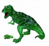 【拼圖總動員 PUZZLE STORY】綠色暴龍 日本進口拼圖/Beverly/49P/立體透明塑膠