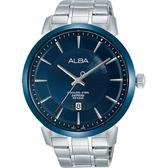 ALBA 潮流任我行經典腕錶/藍寶石水晶鏡面/VJ42-X237B