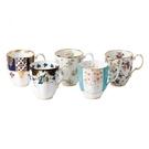 英國Royal Albert 1900-1940百年骨瓷紀念馬克杯五入禮盒組