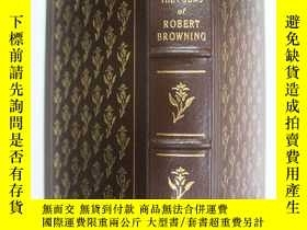 二手書博民逛書店英文原版罕見羅伯特·勃朗寧的詩歌the poems of rob