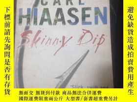 二手書博民逛書店CARL罕見HIAASEN SKINNY DIP(2#)Y268