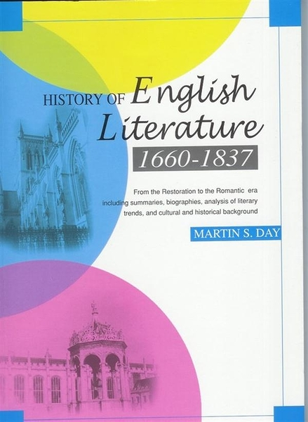 (二手書)History of English Literature 1660-1837