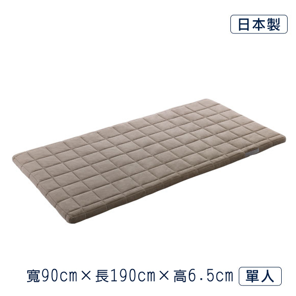 airweave 日本原裝 單人_愛維福6.5公分和風薄墊 (無法指定時段到貨 )