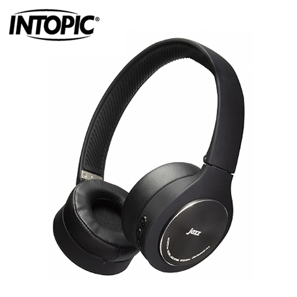 【INTOPIC 廣鼎】鋁合金藍牙頭戴耳機麥克風(JAZZ-BT989)