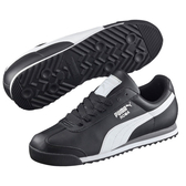 PUMA Roma Basic 男鞋 女鞋 慢跑 休閒 皮革 基本 黑【運動世界】35357211