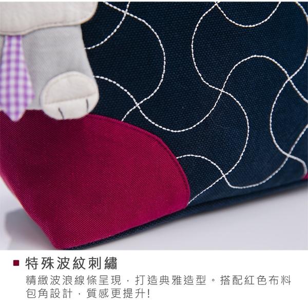 Kiro貓‧雪納瑞 波紋造型 斜背包/小方包/散步包【210986】