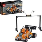LEGO 樂高 Technic Race Truck 42104迴力模型卡車製造套件 (227件)
