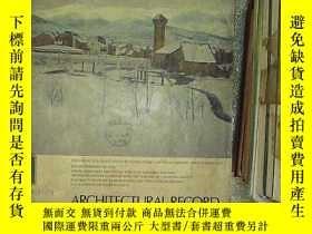 二手書博民逛書店APCHITECTURAL罕見RECORD 1974 1 (書脊破損)Y203004