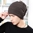 套頭帽子兩用雙面戴男士戶外冬季保暖毛線帽 免運