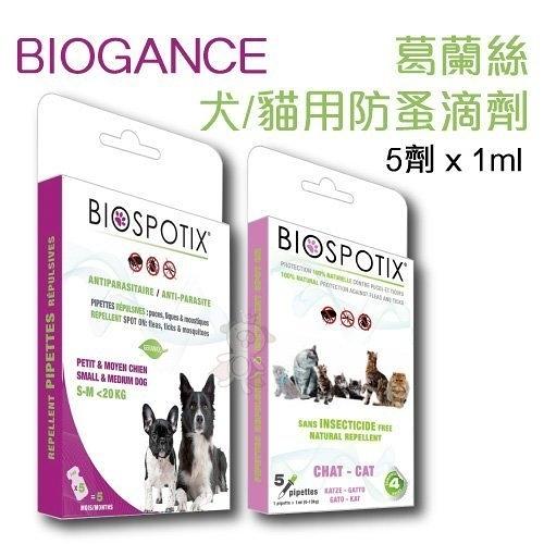 『寵喵樂旗艦店』葛蘭絲《犬/貓 用防蚤滴劑》不含化學成分100%安全無毒性 5劑 x1ml