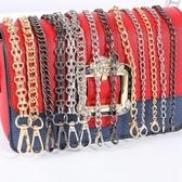 包練子包包練子單買練條包帶配件女肩帶包帶子寬斜背背包貼練金屬