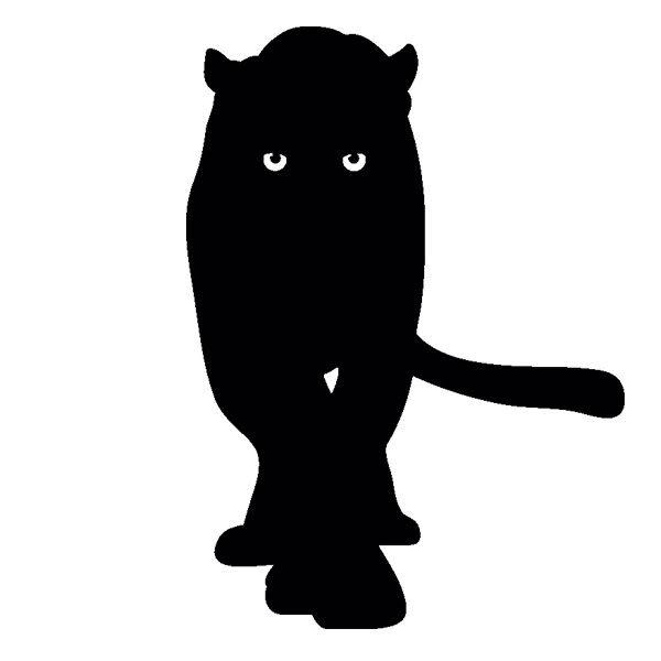 [摩達客]法國Ambiance 黑豹設計 家飾壁貼