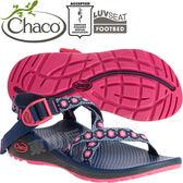 Chaco ZLW01_HD33粉紅寡婦 女越野紓壓涼鞋-Z/Cloud標準款 綁帶涼鞋
