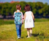 兒童書包 雙肩背包兒童休閒戶外小學生輕便旅行運動迷你小書包登山背包男女 珍妮寶貝