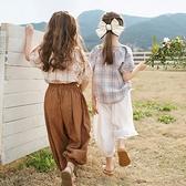 女童褲 兒童防蚊褲女童褲子夏季薄款2021新款洋氣運動休閒褲寶寶寬鬆長褲【快速出貨】