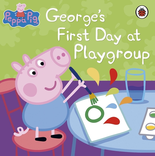Peppa Pig:George's First Day At Playgroup 喬治豬與遊戲小組 平裝本故事書