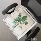 夏季冰絲椅墊辦公室夏天透氣涼墊坐墊椅子家用學生可愛座墊凳子墊  一米陽光