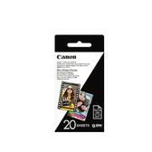 Canon ZINK™相片紙 2x3 相紙 20張 一盒 適用 PV-123 CV-123A ZV-123A