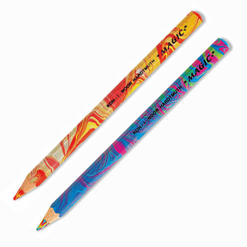 捷克製KOH-I-NOR 彩虹色鉛筆兩支入