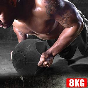 8公斤彈力球拉環橡膠8KG藥球.韻律球.訓練球.運動健身器材.推薦哪裡買MEDICINE BALL特賣會