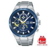 ALBA 雅柏錶型男 活力 感計時腕錶VD57 X080B AM3339X1 藍X 銀
