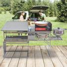 移動廚房 戶外用品野炊野外露營野餐野營炊具車載自駕遊裝備xw【快速出貨】