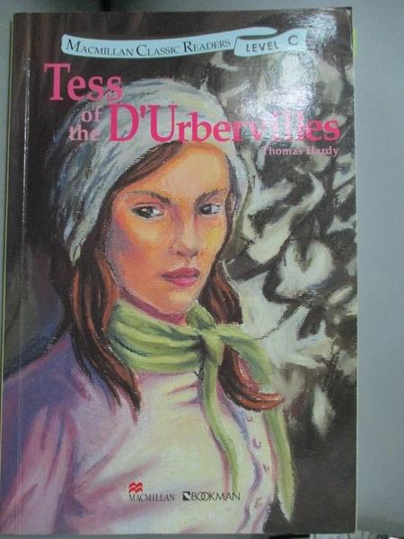 【書寶二手書T1/原文小說_IRE】黛絲姑娘Tess of the D Urbervilles